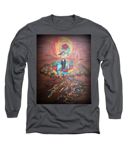Duke At Sunset Long Sleeve T-Shirt