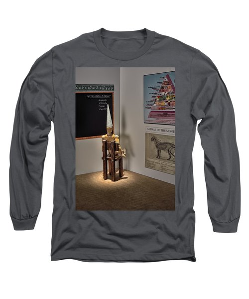 Dunce Long Sleeve T-Shirt by Mark Fuller