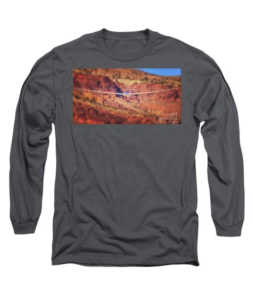Duo Discus Over Red Rocks Long Sleeve T-Shirt