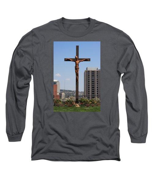 Duquesne Cross Long Sleeve T-Shirt