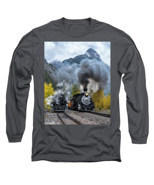 Durango Silverton Train Long Sleeve T-Shirt
