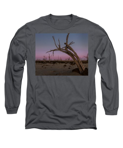 Dusk At Dumbleyung Lake Long Sleeve T-Shirt