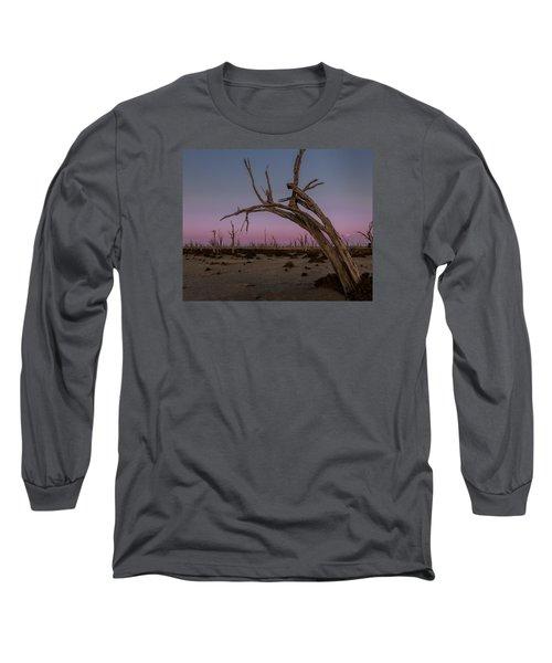 Dusk At Dumbleyung Lake Long Sleeve T-Shirt
