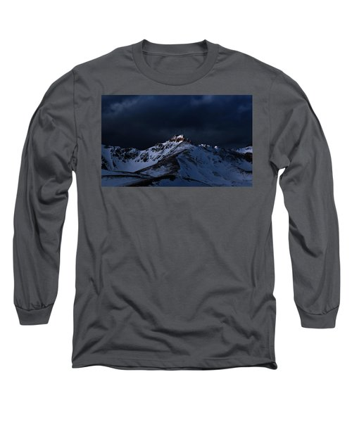 Dusk At Loveland Pass Long Sleeve T-Shirt
