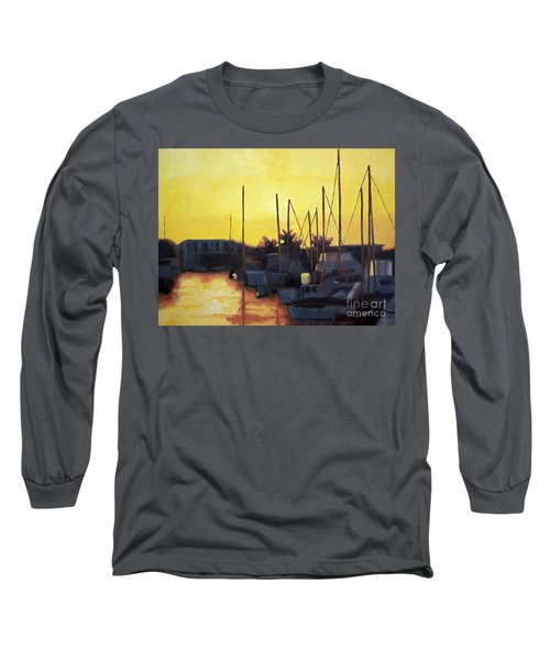 Dusk At The Marina Long Sleeve T-Shirt