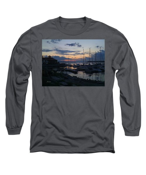 Dusk Begins To Sleep Long Sleeve T-Shirt by Felipe Adan Lerma