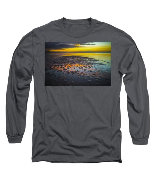 Dusk On Cayo Coco Long Sleeve T-Shirt by Valerie Rosen