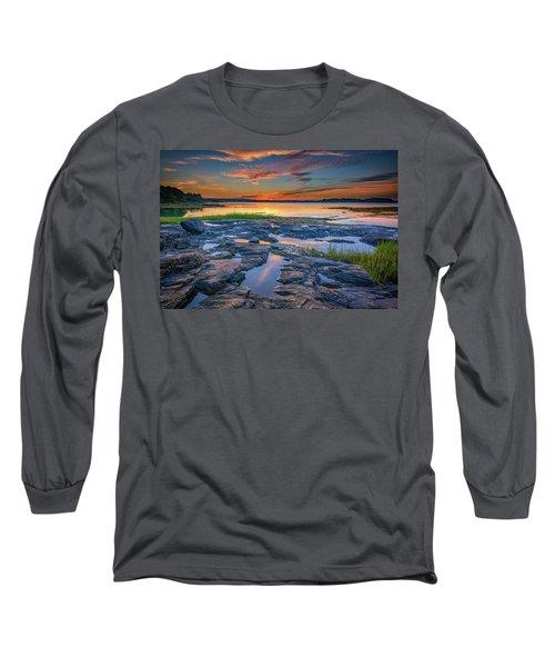 Dusk On Littlejohn Island Long Sleeve T-Shirt