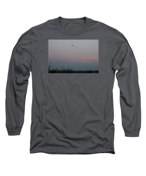 Dusky Colors  Long Sleeve T-Shirt by Robert Banach