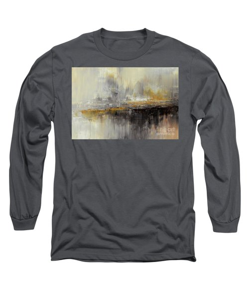 Long Sleeve T-Shirt featuring the painting Dusty Mirage by Tatiana Iliina