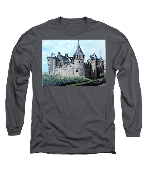 Dutch Castle In Muiden Long Sleeve T-Shirt