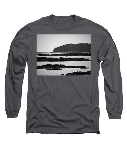 Dwon East Maine  Long Sleeve T-Shirt