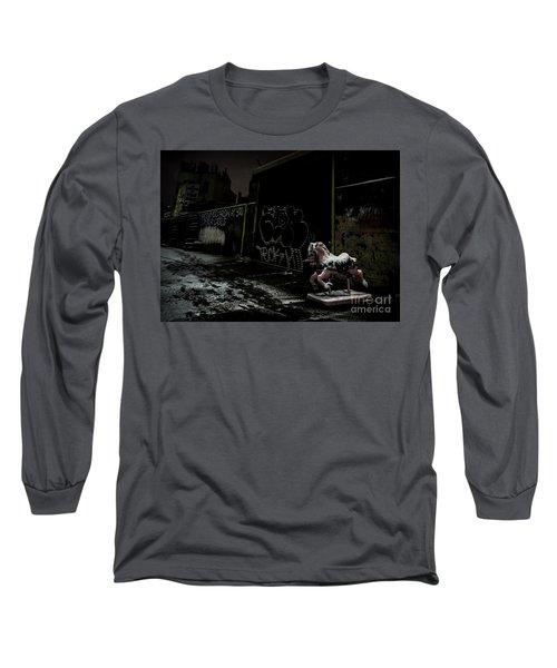 Dystopian Playground 1 Long Sleeve T-Shirt by James Aiken