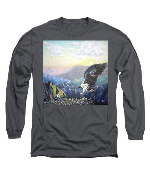 Eagle At Home Long Sleeve T-Shirt