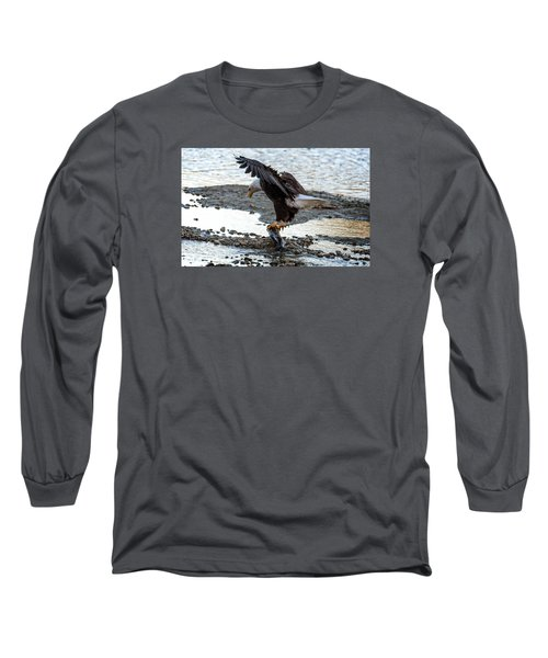 Eagle Dinner Long Sleeve T-Shirt