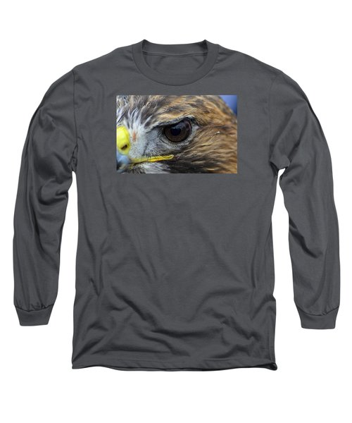Eagle Eye Long Sleeve T-Shirt by Rainer Kersten