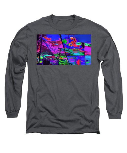 Eagle Rock Back Yard Long Sleeve T-Shirt