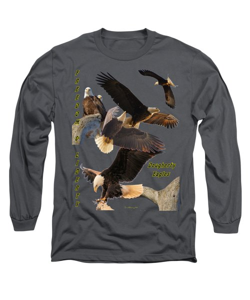 Eagle T-shirt Long Sleeve T-Shirt by Bonfire Photography