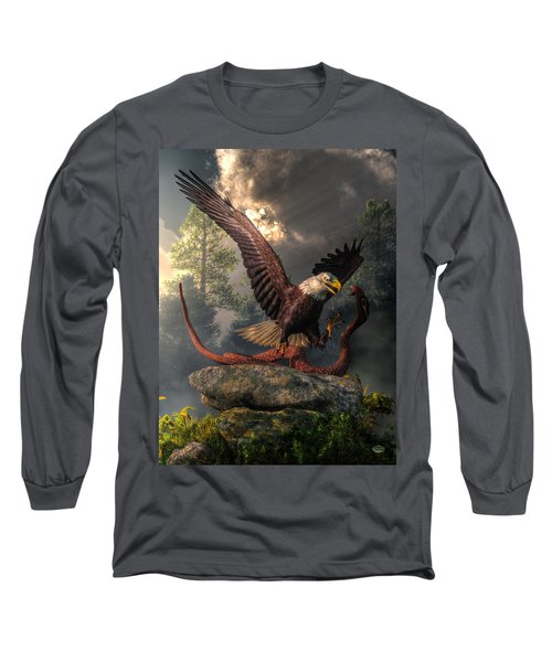 Eagle Vs Cobra Long Sleeve T-Shirt