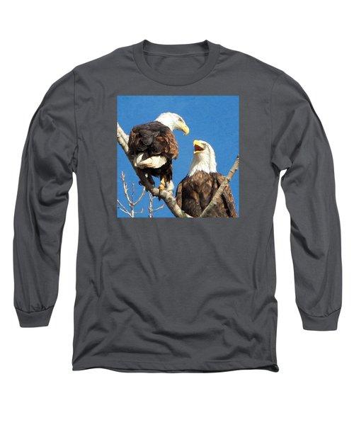 Eagles - Grafton, Illinois Long Sleeve T-Shirt