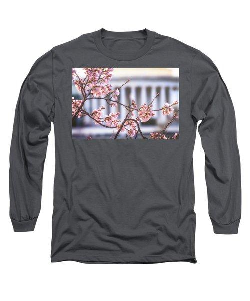 Early Bloom Long Sleeve T-Shirt by Edward Kreis