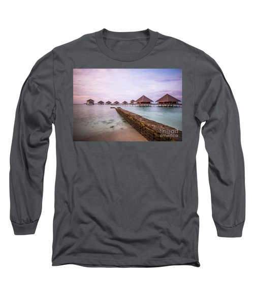 Long Sleeve T-Shirt featuring the photograph Early In The Morning by Hannes Cmarits