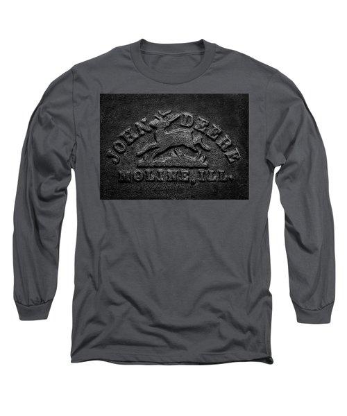 Early John Deere Emblem Long Sleeve T-Shirt