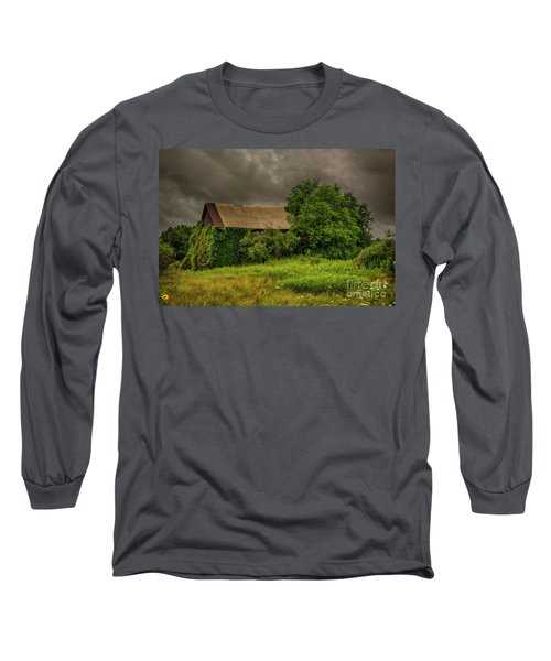 Long Sleeve T-Shirt featuring the photograph Early Monring Rain by JRP Photography