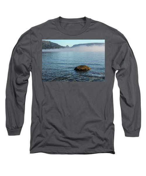 Long Sleeve T-Shirt featuring the photograph Early Morning At Lake St Clair by Werner Padarin