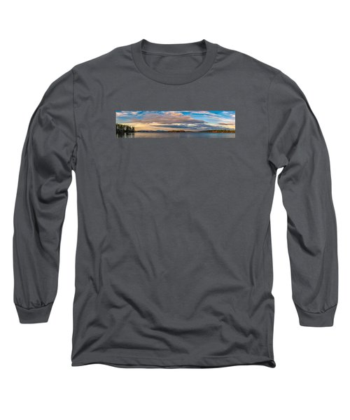 Early Morning At Lake Wentworth Long Sleeve T-Shirt