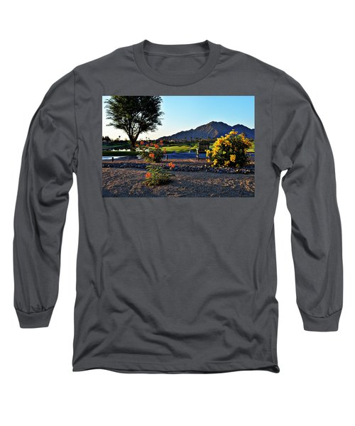 Early Morning At The Dunes Golf Course - La Quinta Long Sleeve T-Shirt