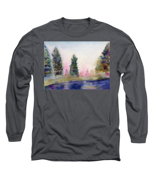 Early Morning Forest Long Sleeve T-Shirt