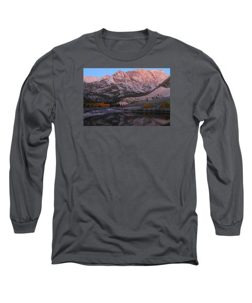 Early Morning Light At North Lake In The Eastern Sierras During Autumn Long Sleeve T-Shirt by Jetson Nguyen