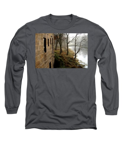Long Sleeve T-Shirt featuring the photograph Early Morning Mist  by Paula Guttilla