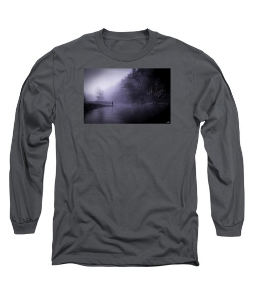 Early Morning On The Lower Mountain Fork River Long Sleeve T-Shirt