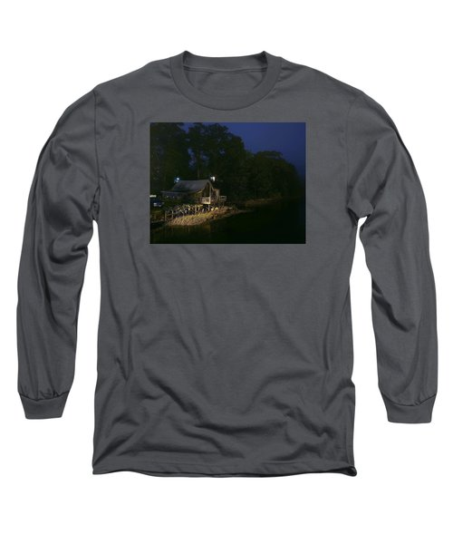 Early Morning On The River Long Sleeve T-Shirt