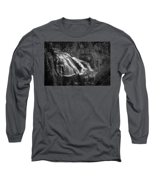 Early Morning Steam Falls Long Sleeve T-Shirt