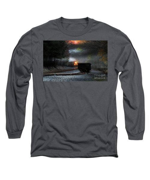 Early Morning Steel Long Sleeve T-Shirt