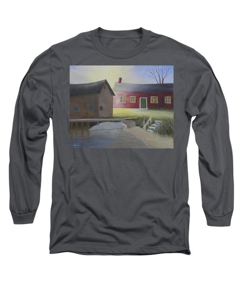 Early Morning Sun At The Shop Long Sleeve T-Shirt