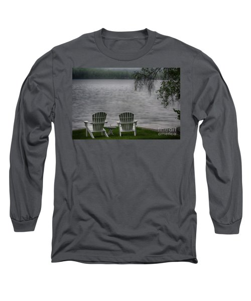 Early Mornong Fog Long Sleeve T-Shirt
