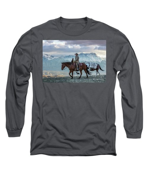 Early October Hunt Wild West Photography Art By Kaylyn Franks Long Sleeve T-Shirt