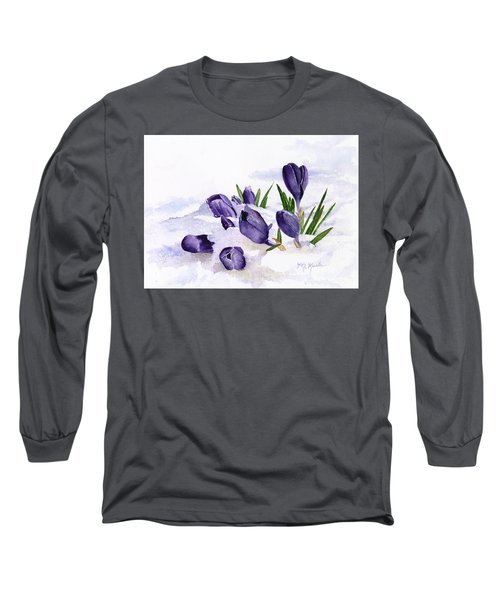 Early Spring In Montana Long Sleeve T-Shirt