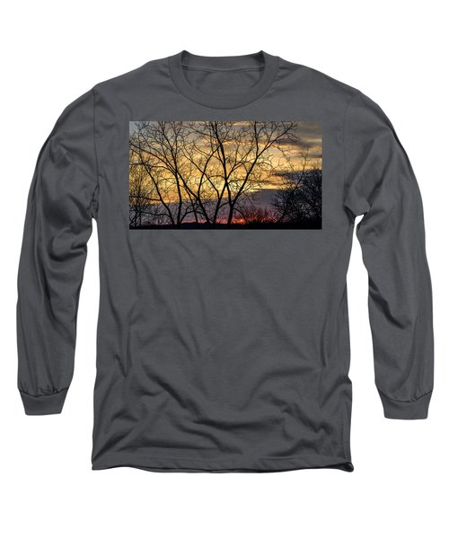 Early Spring Sunrise Long Sleeve T-Shirt