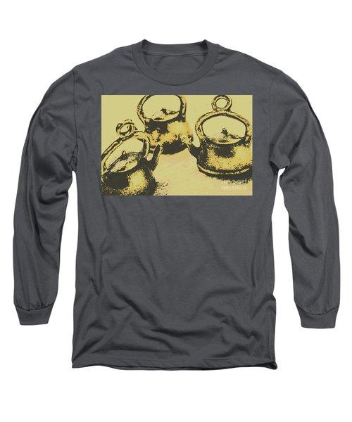Early Vintage Tea Long Sleeve T-Shirt