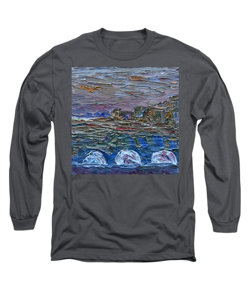 Early Winter In New Jersey Long Sleeve T-Shirt by Vadim Levin