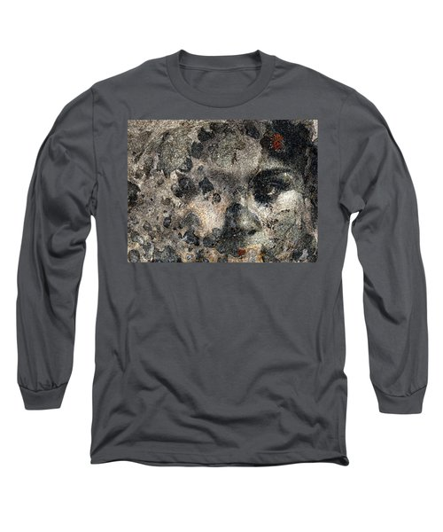 Long Sleeve T-Shirt featuring the photograph Earth Memories - Stone # 7 by Ed Hall