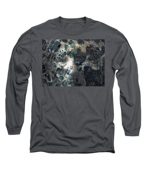 Long Sleeve T-Shirt featuring the photograph Earth Memories - Stone # 8 by Ed Hall