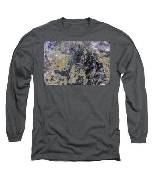Earth Portrait 001-168 Long Sleeve T-Shirt