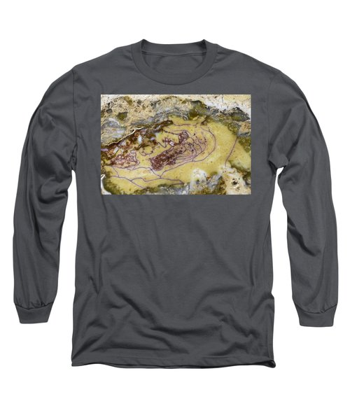 Earth Portrait 007 Long Sleeve T-Shirt