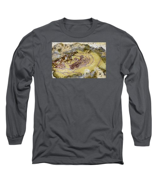 Earth Portrait 007 Long Sleeve T-Shirt